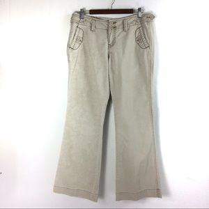 T157 Maurices Khaki Pants Size 9/10